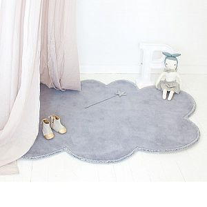 Silver Lining Cloud Rug