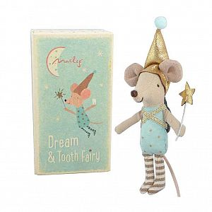 Maileg -  Mouse Tooth Fairy in Box - Boy