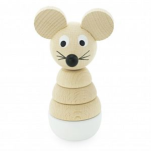 Wooden Mouse Stacking Puzzle - Hobbs