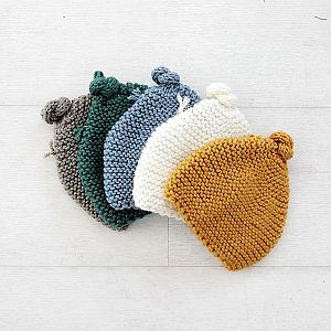 Knitted By Nana Beanie - Shadow
