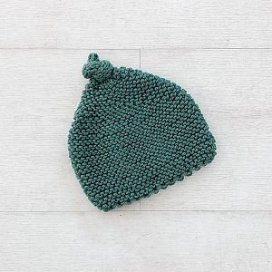 Knitted By Nana Beanie - Gumleaf