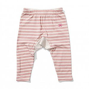 Lil Missie Munster Mazy Patch Jersey Pant - Desert Rose