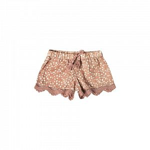 Rylee & Cru Pebble Scallop Short - Terracotta