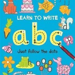 Learn To Write ABC Just Follow The Dots