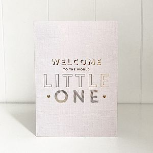 Welcome Little One - Gift Card