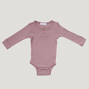 Jamie Kay - Cotton Bodysuit - Nostagia Rose