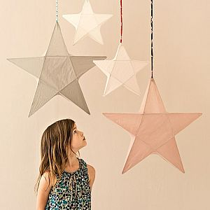 Numero 74 Star Lantern Small - White