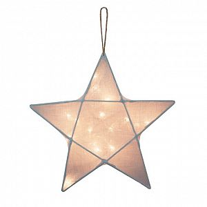Numero 74 Star Lantern Small - Sweet Blue