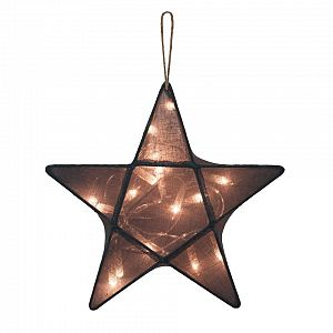 Numero 74 Star Lantern Small - Dark Grey