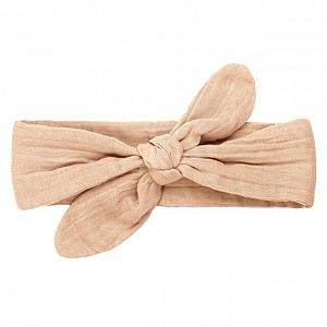 Numero 74 Romy Bow Headband - Pale Peach