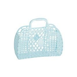 Retro Basket Large - Blue