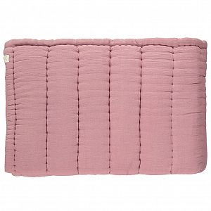 Camomile London Quilted Blanket - Blush