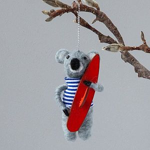 Felt Koala with Surfboard