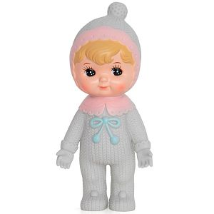 Lapin And Me Blonde Woodland Doll Bobble Grey