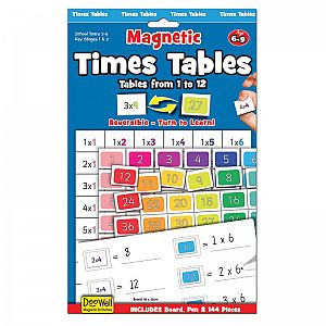 Magnetic - Times Tables