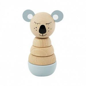 Wooden Stacking Puzzle - Koala