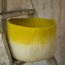 Muskhane Felt Bicolour & Plain Storage - Sulfur Flower - XL