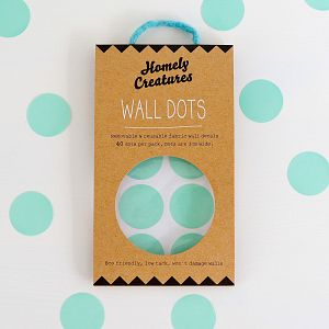Wall Decal Dots - Mint