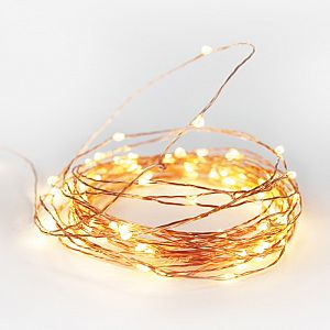 String Lights Copper - 10m - Plug