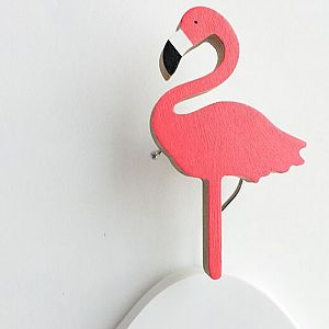 Flamingo Wall Hook - Palm Springs