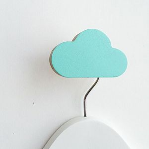 Cloud Wall Hook - Minty