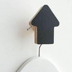 Arrow Wall Hook - Black