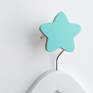 Star Wall Hook - Minty