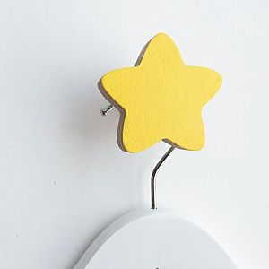 Star Wall Hook - Yellow
